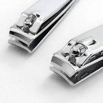 2 pcs coupe-ongles professionnel en acier inoxydable - large levier de pression facile - coupe-ongles de la marque LoueHandMade image 1 produit