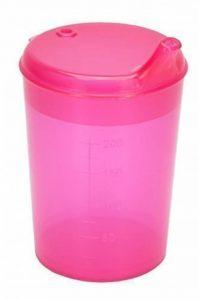 250 ml Gobelet à bec Coupe du bec, gobelet, Gobelet différentes couleurs + Trous potable Medi-Inn - rouge, ouverture potable: 8 x 4 mm de la marque Medi-Inn image 0 produit