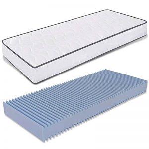 Ailime Matelas orthopédique Waterfoam Hauteur 16 cm revêtement Coton modèle Printemps 90 x 190 cm Blanc de la marque Ailime image 0 produit