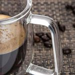 AOLVO Isotherme à Double paroi Tasse à café Mug à café en Verre Transparent Mug à café avec poignée isolée à Boire en Verre Tasse, Faite à la Main Creative Boisson Bière Mug pour Espresso, 10 * 7.4cm de la marque AOLVO image 4 produit