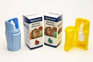 Applicateur de gouttes ophtalmiques - Couleur bleu/jaune/orange de la marque Opticare image 0 produit