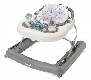 Babymoov - Trotteur bébé 2-en-1 évolutif compact musical, Zinc de la marque Babymoov image 0 produit