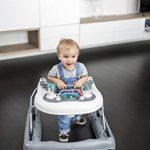 Babymoov - Trotteur bébé 2-en-1 évolutif compact musical, Zinc de la marque Babymoov image 4 produit