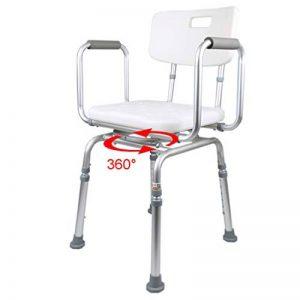 Banquette de Chaise de Douche réglable | Baignoire Spa avec siège pivotant | Antidérapant pour Personnes handicapées, Personnes âgées, bariatrique de la marque KYSZD-douche image 0 produit
