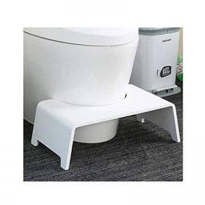 Bdengzi le tabouret de toilette original de salle de bains améliore mieux la constipation/pour les personnes âgées/les enfants/le cadeau 6.3inch de femme enceinte, Solidwoodwhite,Solidwoodwhite de la marque Bdengzi image 0 produit