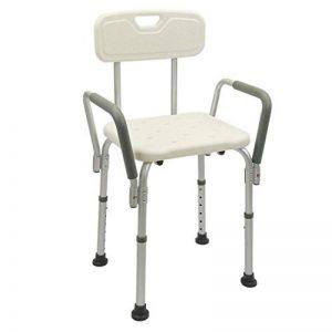 Cablematic - Chaise de douche réglable en hauteur de l'accoudoir pour les personnes âgées de la marque Cablematic image 0 produit