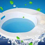 Douperltd Sitz baignoires Idée pour une utilisation en Traitement d'hémorroïdes et d'autres problèmes Génitale/ANAL avec tous types de toilettes Medical Matériau sans BPA de la marque douperLtd image 1 produit