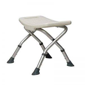 GHzzY Tabouret de Douche Pliable - Banc de Transfert pour Baignoire pour Femme âgée, handicapée ou handicapée - Chaise de Baignoire Spa réglable de la marque GHzzY image 0 produit
