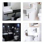 Gimify Lave Main Toilette WC Petit Lavabo Angle (Robintterie et Siphone Inclus) de la marque Gimify image 4 produit