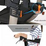 HYYQG Adulte déambulateur Pliable, Poussette de Marché Pliant de déambulateur avec des Roues Réglable en Hauteur Rollator 4 Roues Portable Ergonomique de la marque HYYQG image 1 produit