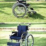 KEKEFUYUAN Fauteuil Roulant Léger électrique 100 Kg Fauteuil Roulant Automoteur pour Vieillard Handicapé,Grey de la marque KEKEFUYUAN image 4 produit