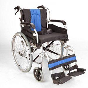 Léger en aluminium auto pliant propulsé fauteuil roulant ECSP01-18 de la marque Elite-Care image 0 produit