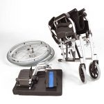 Léger en aluminium auto pliant propulsé fauteuil roulant ECSP01-18 de la marque Elite-Care image 2 produit