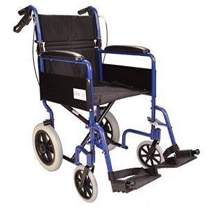 Léger pliant fauteuil roulant voyage en aluminium - ECTR01 de la marque Elite-Care image 0 produit
