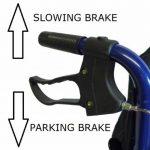 Léger pliant fauteuil roulant voyage en aluminium - ECTR01 de la marque Elite-Care image 1 produit