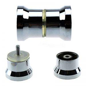 Lot de 2 de poignées de porte de douche / bain, chromées de la marque YUANQIAN image 0 produit