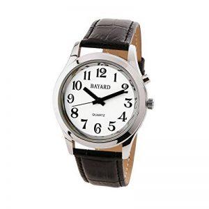 Montre parlante homme Bayard bracelet cuir de la marque Self Confort image 0 produit