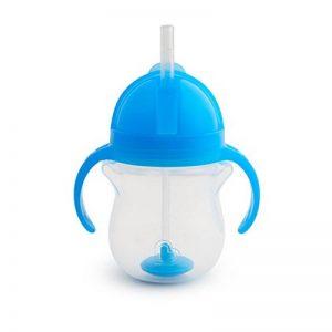 Munchkin Tasse d'Apprentissage à Paille Fléxible Tip/Sip - Bleu - 207 ml de la marque Munchkin image 0 produit
