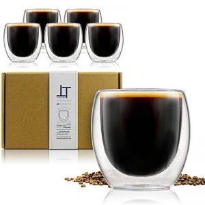 tasse à café en verre transparent TOP 10 image 0 produit