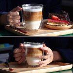 tasse à café en verre transparent TOP 12 image 2 produit