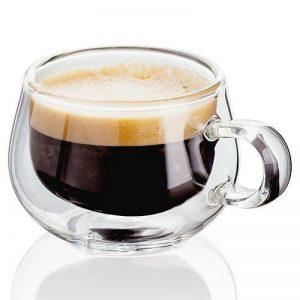 tasse à café en verre transparent TOP 4 image 0 produit