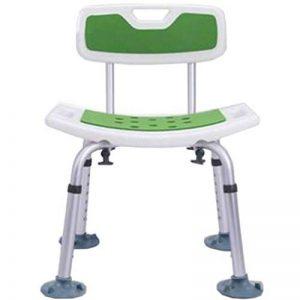 À Toute épreuve Chaise de Douche avec Dossier - Chaise de Baignoire avec Bras pour handicapé - Sécurité antidérapante de la marque KYSZD-douche image 0 produit