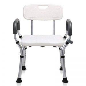 YXIAOL Chaise pour Siège De Douche Banc De Baignoire pour Handicapé Tabouret De Bain Réglable pour Personnes Handicapées Personnes âgées Personnes Glissantes Blanc,White de la marque YXIAOL image 0 produit